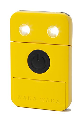 Wakawaka Power - Solar Charger, Yellow