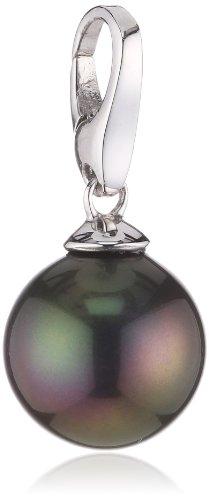 Giorgio Martello Charm Silver 455-803369 Lucky Pearl Black