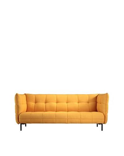 Kardiel Hepburn Contemporary Modern Loft Sofa, Citrine