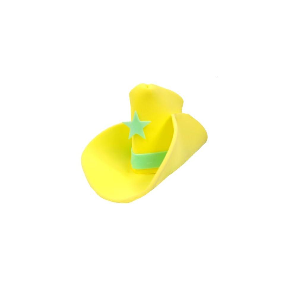 f1ffa736d3749 Giant Foam Cowboy Hat Yellow on PopScreen