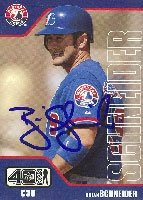 Brian Schneider Montreal Expos 2002 Upper Deck Autographed Hand Signed Trading Card. by Hall+of+Fame+Memorabilia