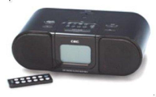 iPodで目覚める生活!全米で大ヒット!! AM/FMラジオ・アラームクロックがひとつに「ラジクロ」【CEC SCD-1501i】ブラック