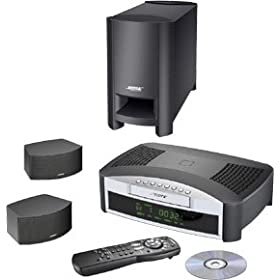 Bose 3-2-1 GS Home Entertainment System - DVD surround system - radio / DVD - graphite gray