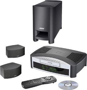 Bose 3-2-1 Gs Dvd Home Entertainment System - Dvd Surround System - Radio / Dvd - Graphite Gray