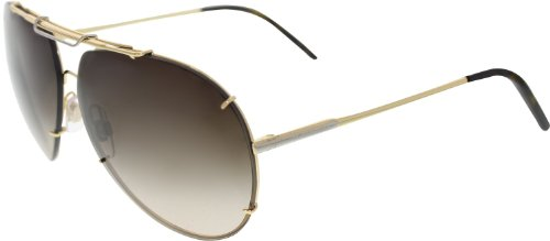Dolce & Gabbana DG2075 Sunglasses-034/13 Gold (Brown Gradient Lens)-63mm
