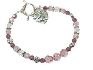 21st Birthday Gift - Twenty First Birthday Wish Bracelet