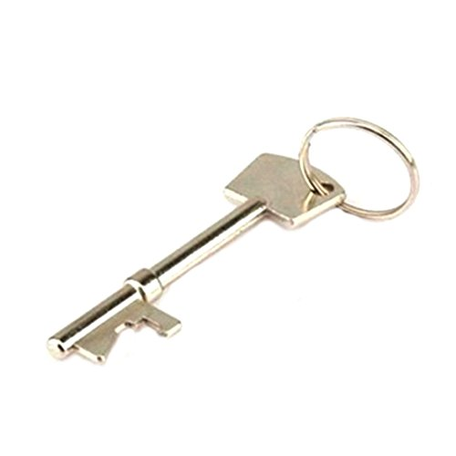 Portable Bottle Opener Key Beer Drink Liqueur Bottle Can Opener Hangings Ring Keychain Tool (Can Key compare prices)