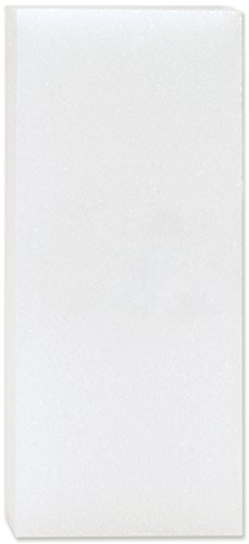FloraCraft Packaged Styrofoam Blocks, 5-Inch-by12-Inch-by1/4-Inch, White