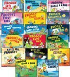 Big Sale Best Cheap Deals Froggy 17-Book Set (Froggy . . . Bakes a Cake, Eats Out, Gets Dressed, Goes to Bed, Goes to School, Goes to the Doctor, Learns to Swim, Plays in the Band, Plays Soccer, Rides a Bike, Froggy's . . . Baby Sister, Best Christmas, Day with Dad, First Kiss, Halloween, Sleepover, & Let's Go Froggy!)