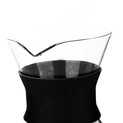 Clever-Coffee-Dripper-Pure-Over-Coffee-Maker-Permanent-Reusable-Stainless-Steel-Coffee-Filter-Brewer-Pyrex-Glass-Paperless-Cone-Coffee-3-Cup-Comenzar