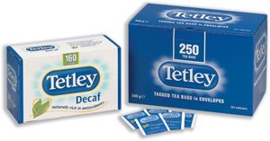 Tetley Tea Bags Tagged in Envelope High Quality Ref A01416 [Pack 250]