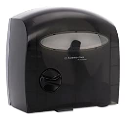 Kimberly-Clark Professional 09618 Black Electronic Touchless Coreless JRT Dispenser