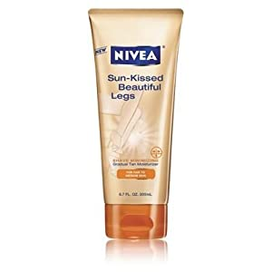 Nivea Sun-Kissed Beautiful Legs Gradual Tan Moisturizer 6.7 fl oz (200 ml)
