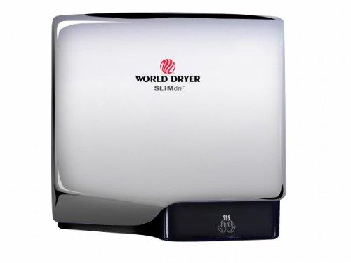 Slimdri Surface Mount Hand Dryer Finish: Aluminum Polished Chrome front-310340