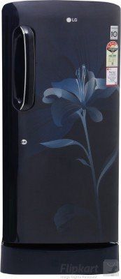 LG GL-D221AMLL.DMLZEBN Direct-cool Single-door Refrigerator (215 Ltrs, 4 Star Rating, Marine Lily)