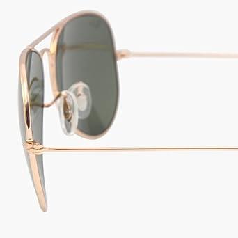 RAY BAN AVIATOR Sunglasses/Lunettes de soleil: 3025 L0205 Or/G15 (58mm Moyen)