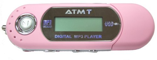 ATMT MINI MP3 512MB Player - Baby Pink