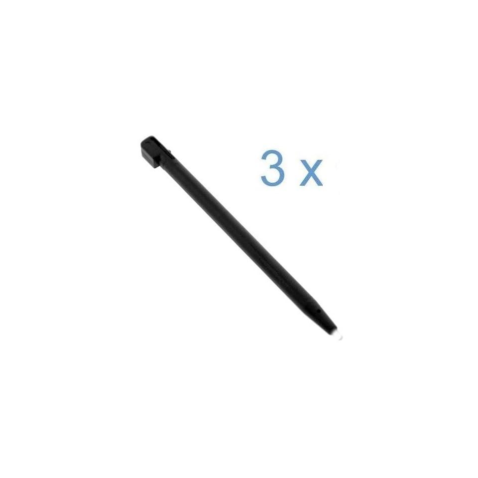 Black Replacement Stylus Pen   3 Packs for Nintendo DSi NDSi / DSi XL