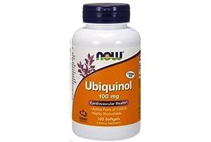 Now Foods Ubiquinol Softgels, 120 Count
