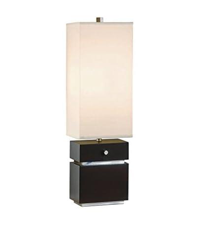 Nova Lighting Expression Table Lamp, Dark Brown