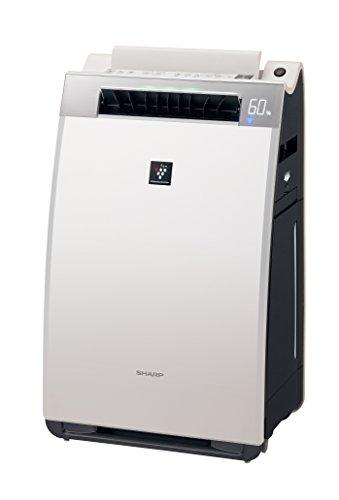シャープ 加湿空気清浄機 プラズマクラスター25000搭載 プレミアムモデル ~20畳 ホワイト系 KI-EX75-W