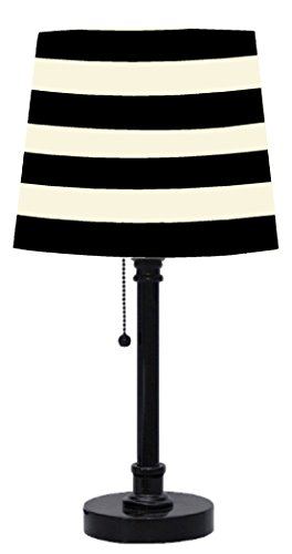 urban-shop-black-and-white-striped-table-lamp