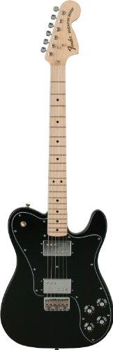 Fender フェンダー クラシックシリーズ 72's テレキャスター デラックス ブラックClassic Series '72 Telecaster_ Deluxe Electric Guitar, Black, Maple Fretboard[並行輸入]