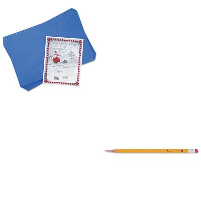 KITPAC103625UNV55400 - Value Kit - Pacon Riverside Construction Paper (PAC103625) and Universal Economy Woodcase Pencil (UNV55400) kitcyo588750pac103637 value kit crayola pip squeaks telescoping marker tower cyo588750 and pacon riverside construction paper pac103637