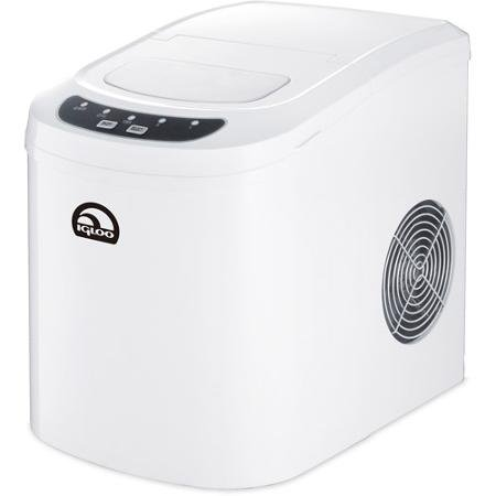Igloo Portable Countertop Ice Maker, White