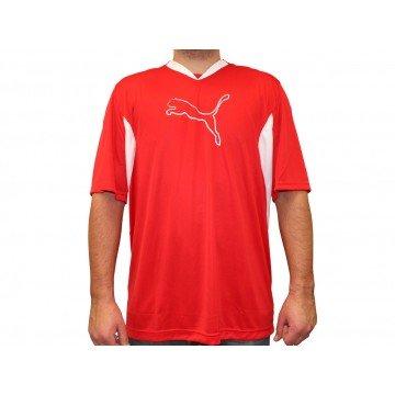 v5.08Big Logo Tee-Shirt Herren Puma Gr. S, Rot - Rot