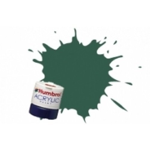 Humbrol Acrylic Paint, US Dark Green - 1
