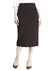 M&S Collection Knee Length Seamed Pencil Skirt
