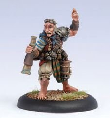 Privateer Press - Warmachine - Mercenary: Master Gunner Dougal Model Kit