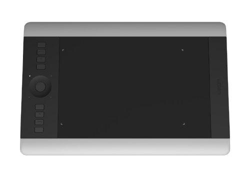 Wacom Intuos Pro Medium-ES - Bolígrafo para pantalla táctil, color negro y gris