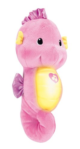 Fisher-Price Doudou Petit Hippoclampe Rose