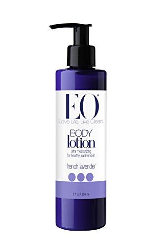 EO Botanical Body Lotion, French Lavender, Ultra Moisturizing, 8 Ounce (Pack of 3)