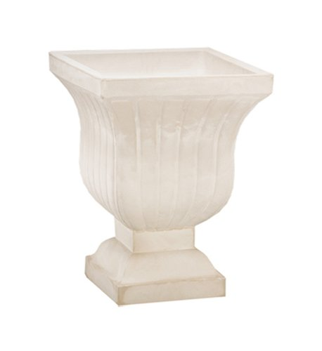Crescent Garden A695517 Leyla Urn Planter in Weathered Stone