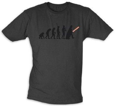 Star Wars T-SHIRT Dark Force Evolution taglia L