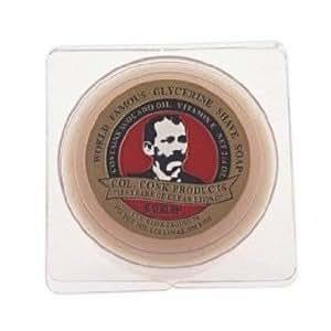 Col. Conk Bay Rum Glycerine Shave Soap