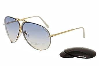 Amazon.com: Porsche Design P'8478 P8478 W Gold Aviator