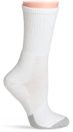 Buy Thorlos Mens & Ladies 1 Pair Tennis Coolmax Crew Socks with Thin Cushion by Thorlo