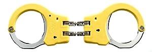 ASP Tactical Hinged Handcuffs - Yellow