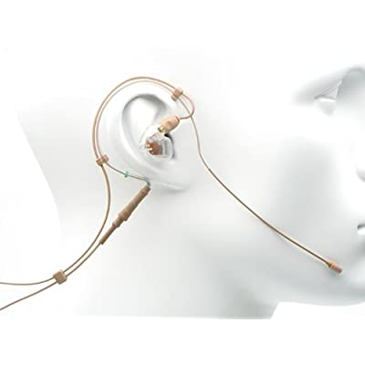 Countryman EM6DW6T1TL4L  Springy EM6 Directional Earset with Cable and SE425 Single Left Earphone for Telex Transmitters (Tan) sale off 2015