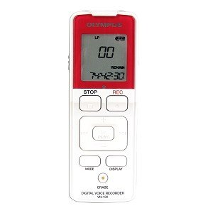 Olympus VN-100 128MB Digital Voice Recorder - Enjoy up to 74 Hours of Digital Recording!
