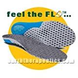 CIRCUFLO Odor Absorbing MASSAGE Support Insoles 1 Pair