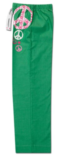 Green Cotton Pajamas front-999653