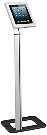 NewStar Tablet Floor Stand (universal for all tablets), TABLET-S100SILVER ((universal for all tablets) Silver)
