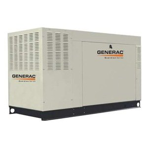 Generac Qt04524Jnsx Guardian Series Liquid-Cooled 2.4L 45Kw 120/240V 3-Phase Natural Gas Steel Generator