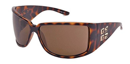Givenchy Givenchy Oversized Sunglasses (Demi Brown) (SGV662M|748|Medium)