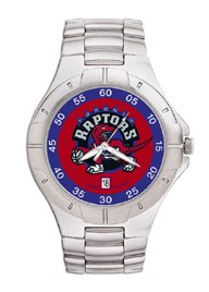 Toronto Raptors NBA PRO II Metal Sports Watch by Logo Art